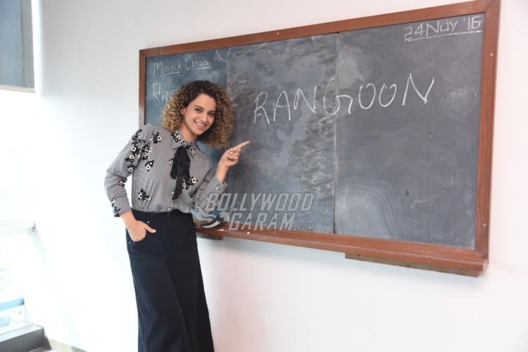 Kangana Ranaut promotes Rangoon
