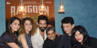 Rangoon Special Screening – Stars Celebrate Release with Cake!