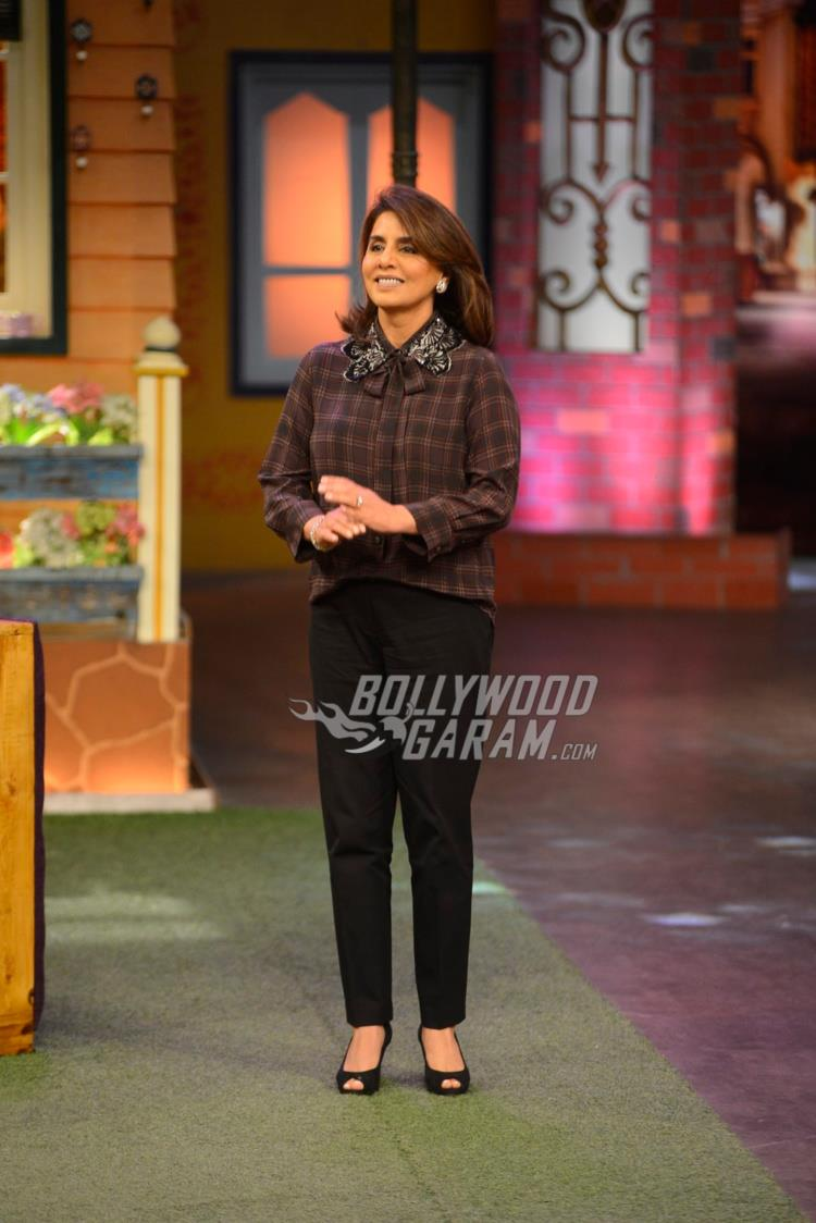 Neetu Kapoor on The Kapil Sharma Show