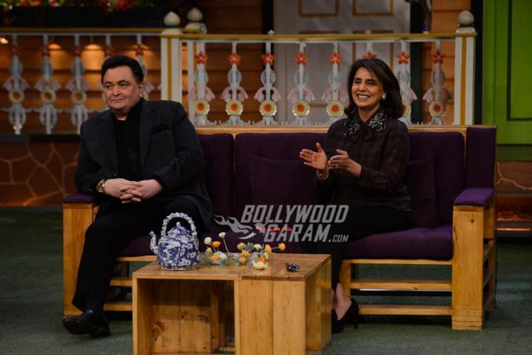 Rishi Kapoor and Neetu Kapoor on The Kapil Sharma Show