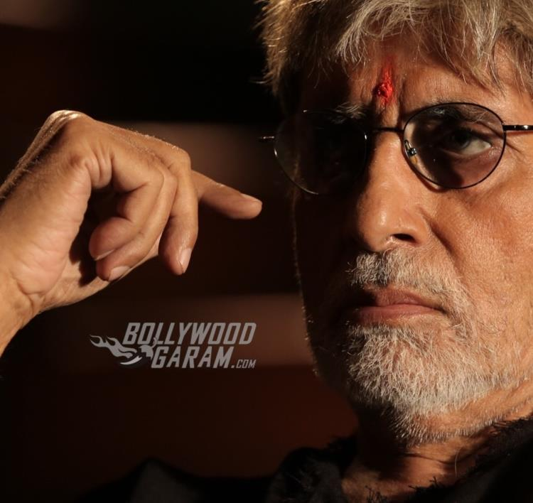 Amitabh Bachchan in a still from Sarkar 3