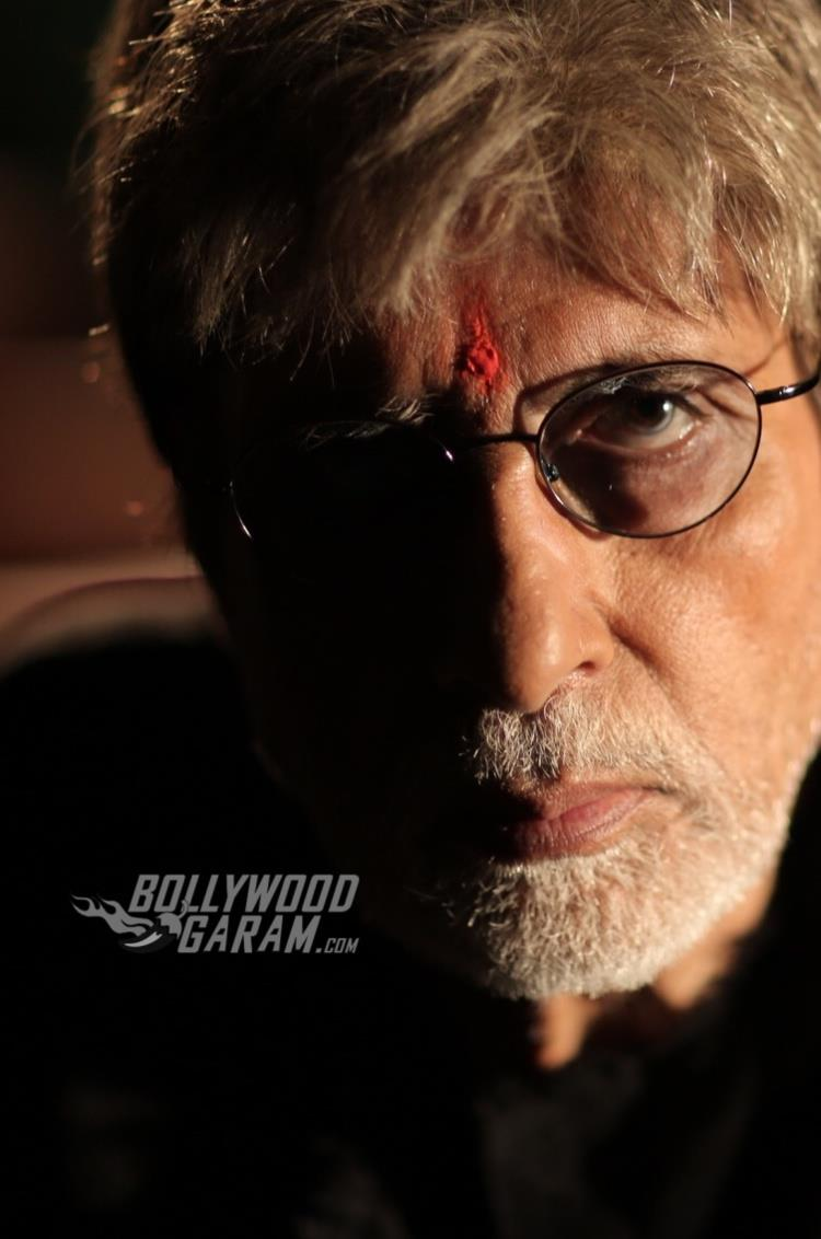 Amitabh Bachchan from a still from Sarkar 3