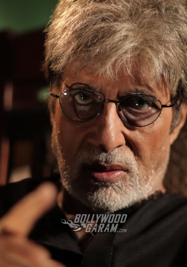 An intense Amitabh Bachchan in Sarkar 3 movie still