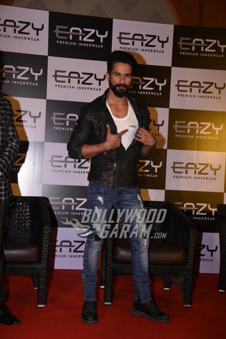 Shahid Kapoor endorses Premium inner wear brand