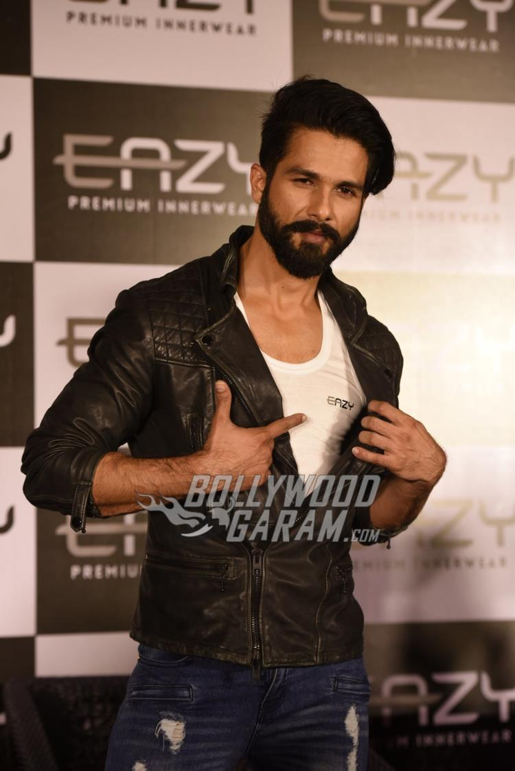 Shahid Kapoor at inner wear brand launch event