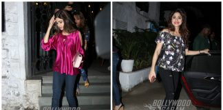 Snapped – Latest pictures of Shamita Shetty dining at her favorite restaurants!