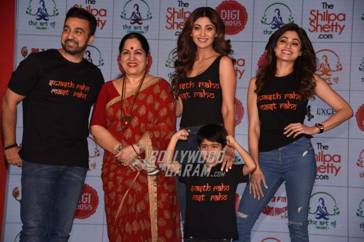 Shilpa Shetty Launches Wellness Website to Promote Healthy