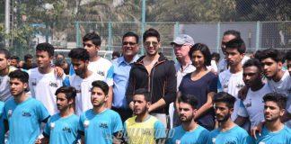 Sidharth Malhotra shows support for Slum Soccer