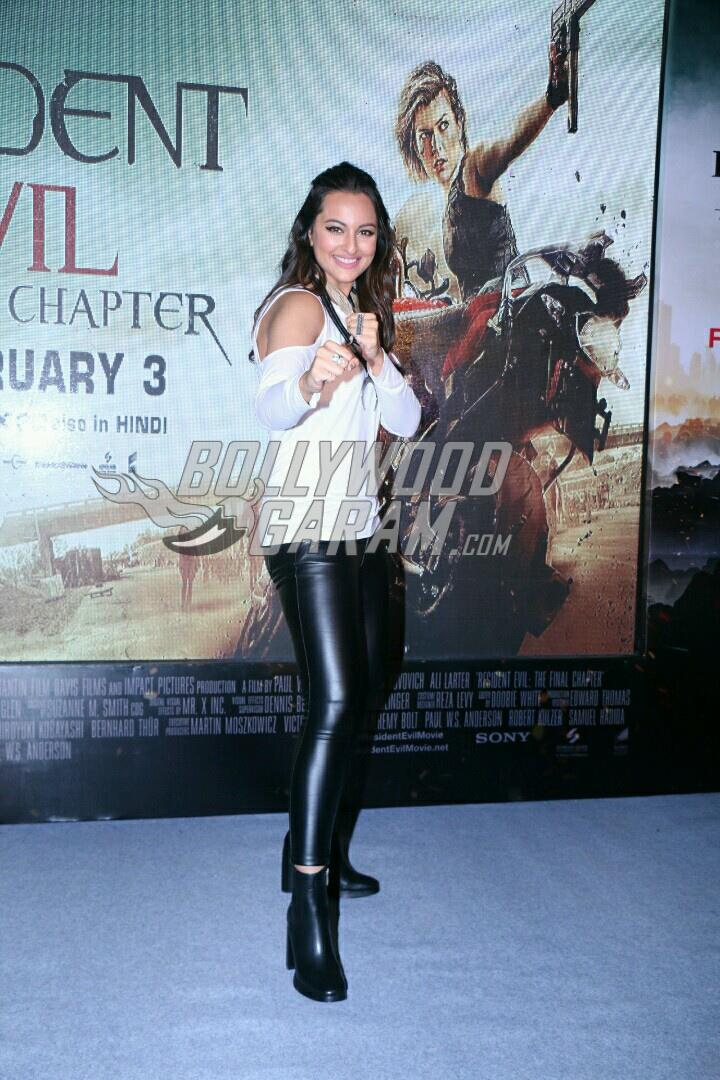 Sonakshi Sinha at Resident Evil experience event