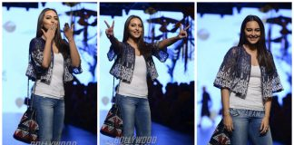 Sonakshi Sinha Walks for Amit Aggarwal at Lakme Fashion Week Summer/Resort 2017!