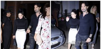 Spotted! Sunny Leone with husband at Estelle, Juhu – Photos!