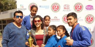 Taapsee Pannu Attends Kudo Competition 2017 – Photos!