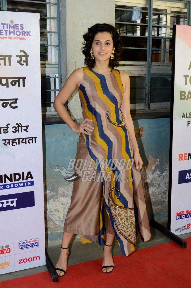 Taapsee Pannu at Remonetise India initiative