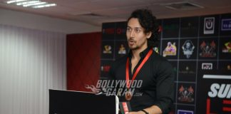 Tiger Shroff Shows Off Killer Moves at Super Fight League