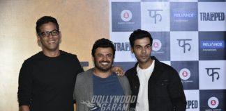 'Trapped' Trailer Launch Event : Rajkumar Yadav, Vikramaditya Motwane and Vikash Bahl Interact with Media