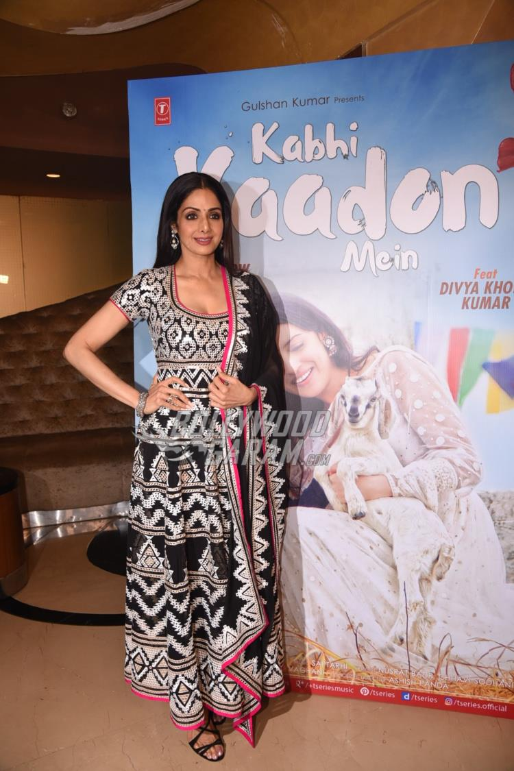 Sridevi at Kabhi Yaadon Mein song launch