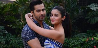 Varun Dhawan, Alia Bhatt spread love at Badrinath Ki Dulhania photoshoot