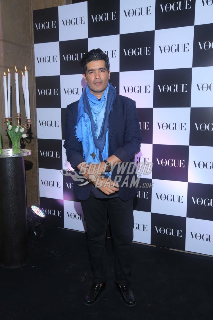 Manish Malhotra at Vogue bash