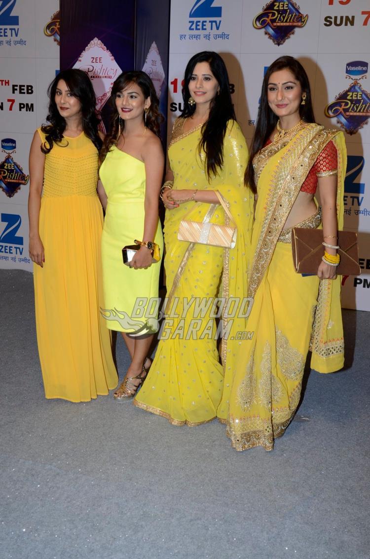 TV divas at Zee Rishtey Awards 2017