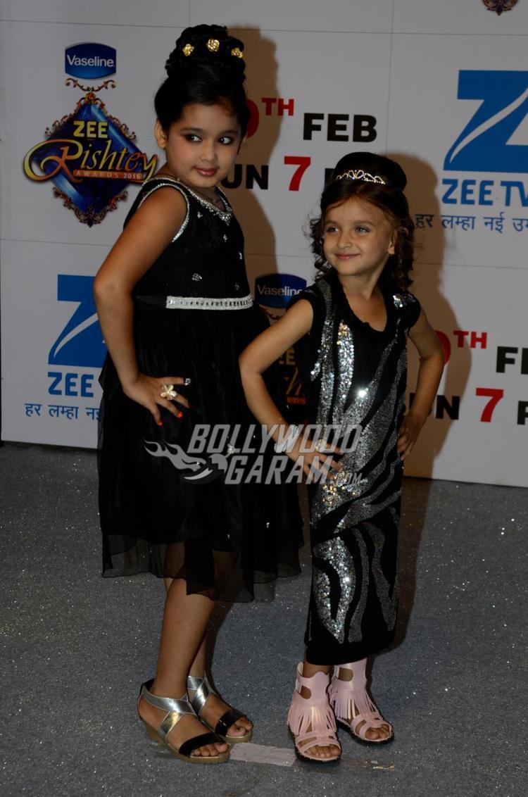 Child actors at Zee Rishtey Awards 2017
