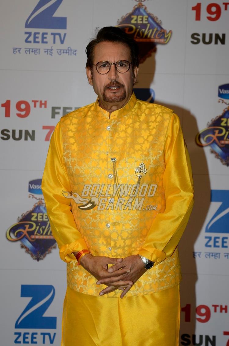 Kiran Kumar at Zee Rishtey Awards 2017