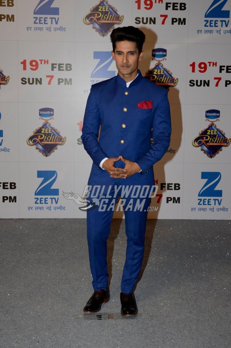 Ravi Dubey at Zee Rishtey Awards 2017