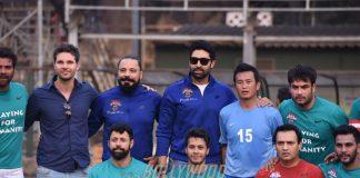 Exclusive Coverage – Abhishek Bachchan and Baichung Bhutia at Nike Premiere Cup 2017