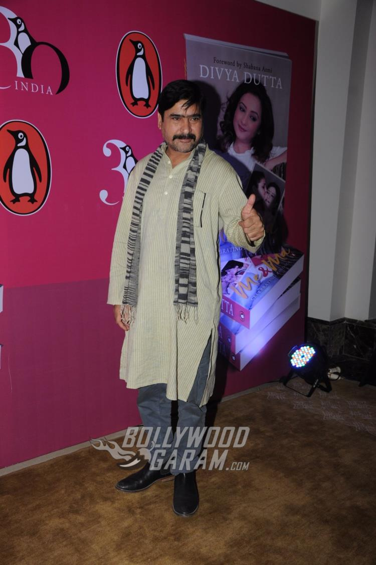 Yashpal Sharma at Divya Dutta's book launch event