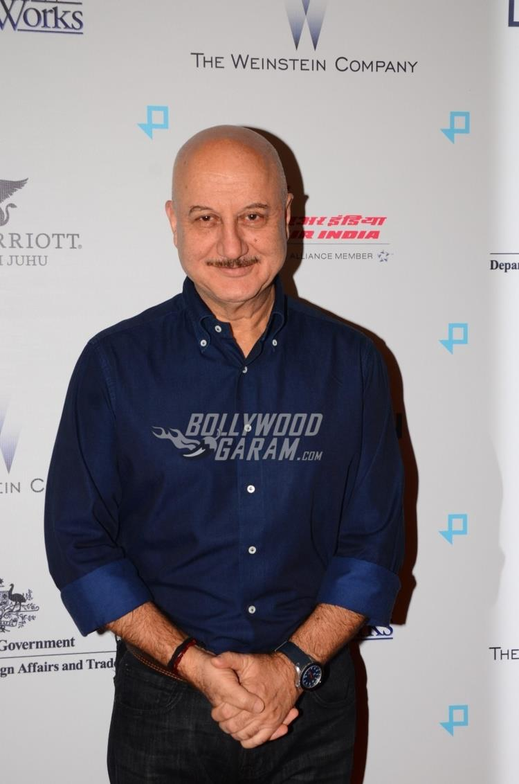 Anupam Kher at Lion Premiere in India