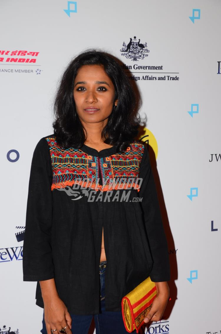Tannishtha Chaterjee at Lion Premiere in India