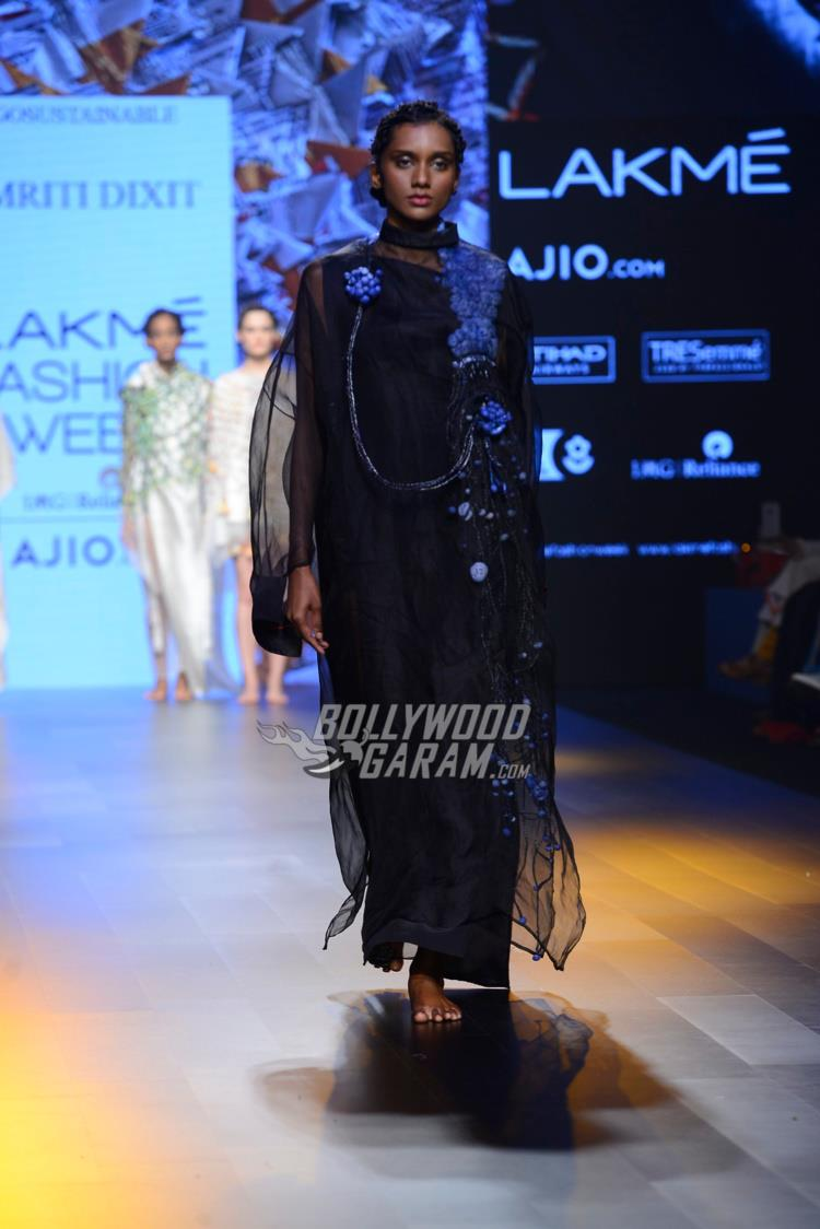 a Model at Lakme Fashion Week Summer Resort 2017
