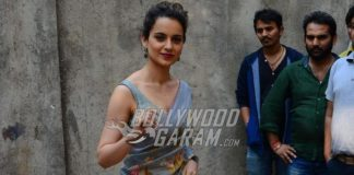 Kangana Ranaut and Shahid Kapoor promote Rangoon at Komal Nahata's celebrity talk show