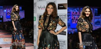 Exclusive! Vaani Kapoor walks for Ritu Kumar at Lakme Fashion Week Summer/Resort 2017
