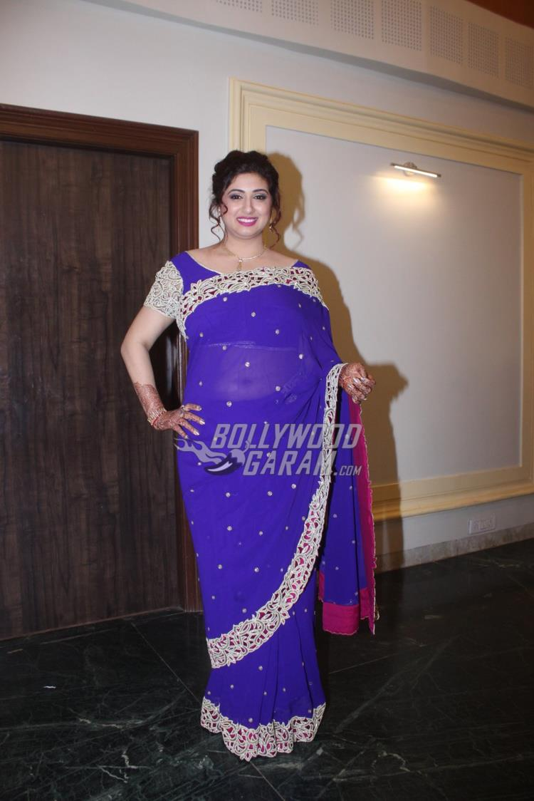 Vahbiz Dorabjee at brother Daniel's wedding reception
