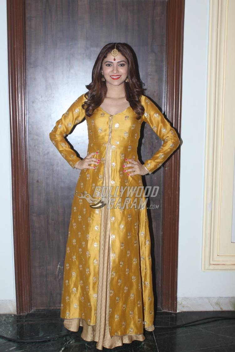 Ridhima Pandit at brother Daniel's wedding reception