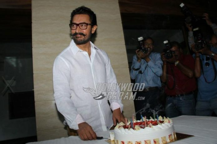 Aamir Khan birthday 20175