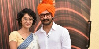 Aamir Khan and Kiran Rao promote Paani Foundation