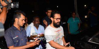 Spotted! Aamir Khan, Fatima Sana Sheikh After Dance Rehearsals For Secret Superstar – Photos!