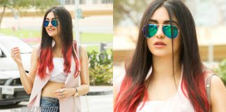 Adah Sharma turns up the heat in Dubai! – Photos