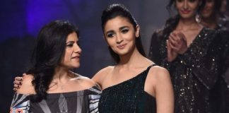 Amazon India Fashion Week 2017 Photos  – Alia Bhatt walks for Namrata Joshipura on day 3