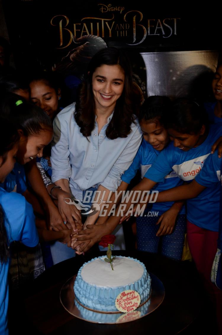 Alia Bhatt at Beauty and the Beast screening