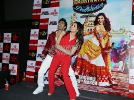 Alia Bhatt – Varun Dhawan promote Badrinath Ki Dulhania in Delhi – Photos