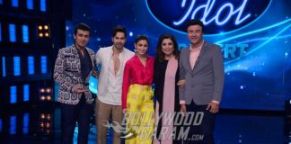 Varun Dhawan and Alia Bhatt Promote 'Badrinath Ki Dulhania' on Indian Idol