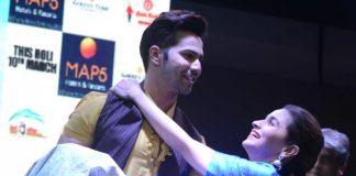 Alia – Varun Go Full Power With Badrinath Ki Dulhania Promotions in Kolkata – Photos!