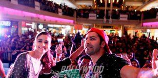 Varun – Alia Sing, Dance, Click Selfies at Badrinath Ki Dulhania Promotion! Photos