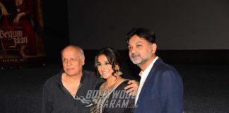 Vidya Balan, Mahesh Bhatt Launch Official Trailer of Begum Jaan!