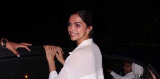 Deepika Padukone Snapped Outside Shankar Mahadevan's Studio