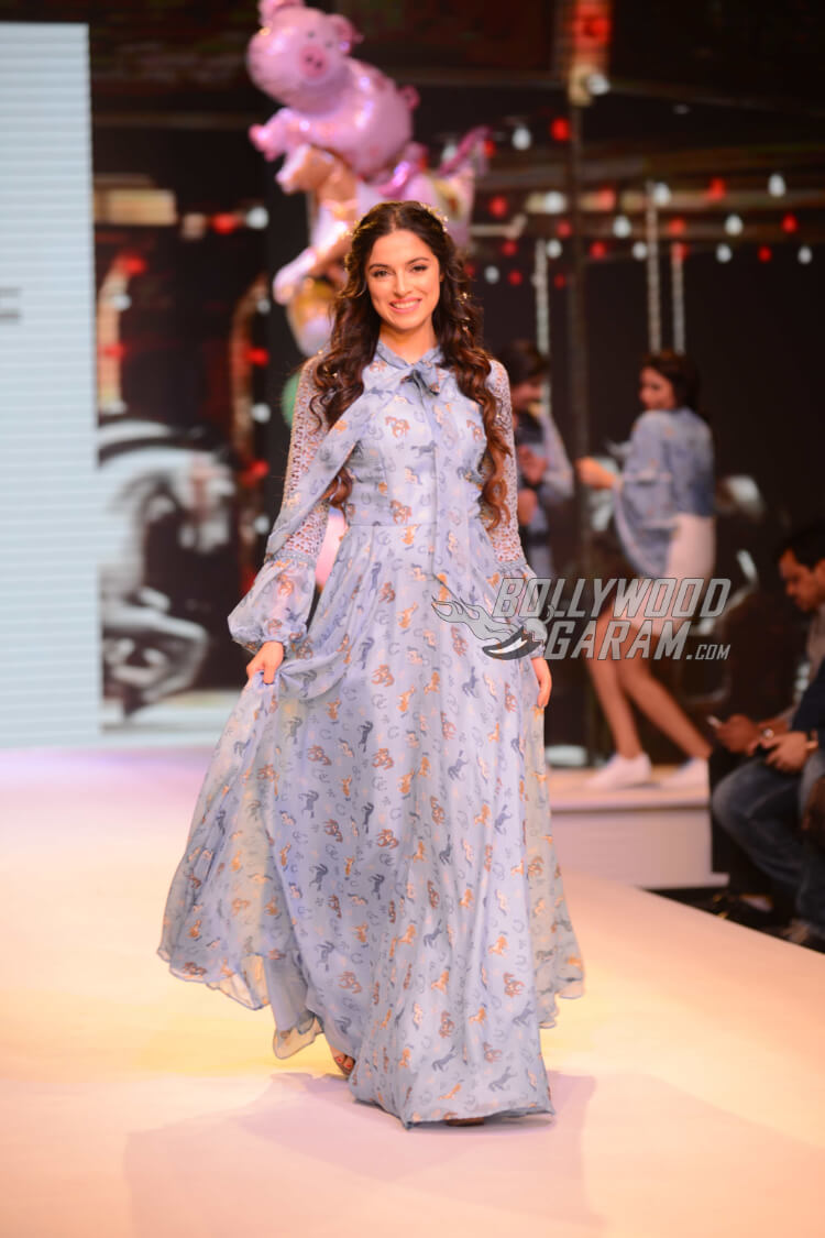 Divya Khosla Kumar at Delhi Times PCJ India Showcase Week 2017, March 27, 2017