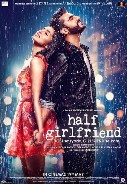 Motion poster of Half Girlfriend