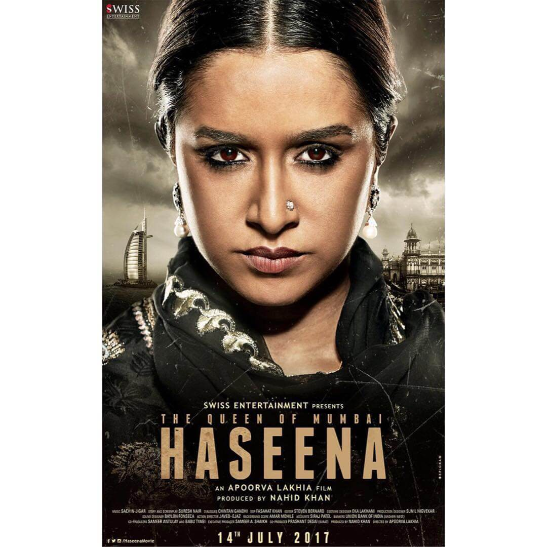 Siddhanth Kapoor and Shraddha Kapoor's film Haseena releases on July 14, 2017